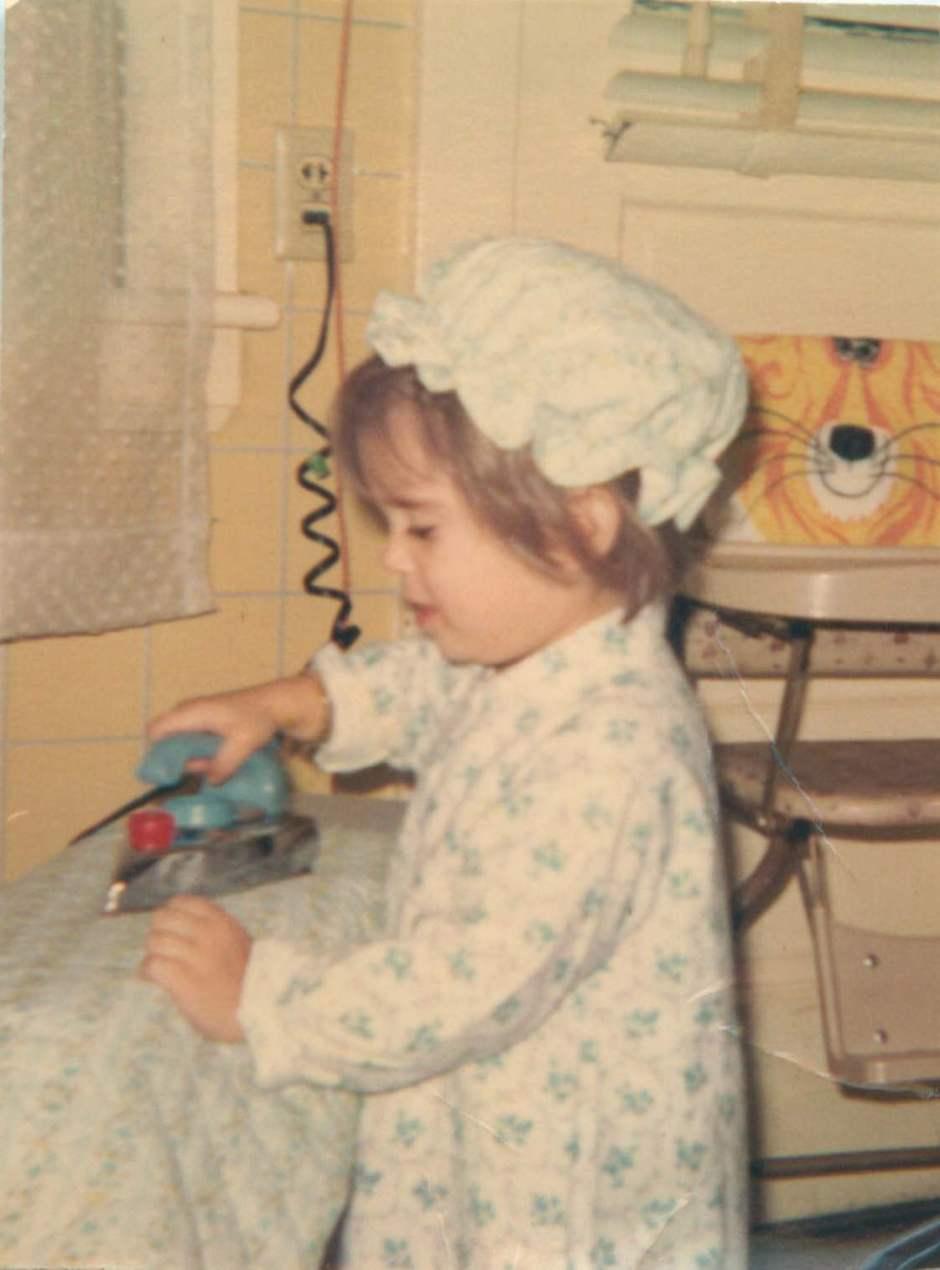 Amanda ironing 1968_1