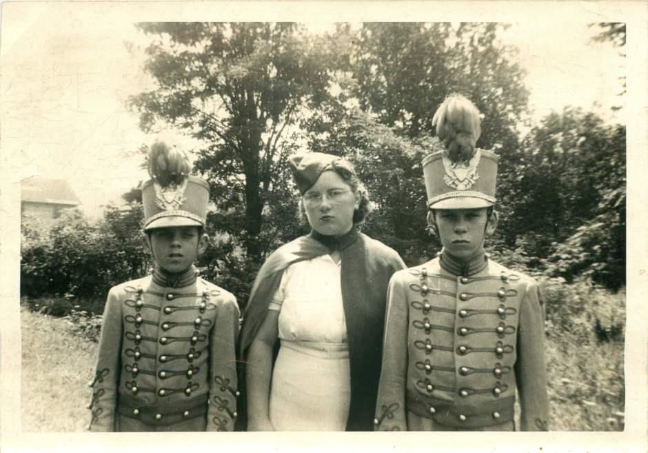 James, Sue and Jack Shaffer 1940?