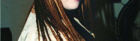 amanda with braids 1992