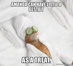 Amanda can have a treat